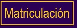 Matriculaci�n