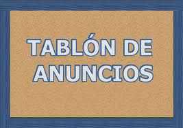 Tabl�n de Anuncios